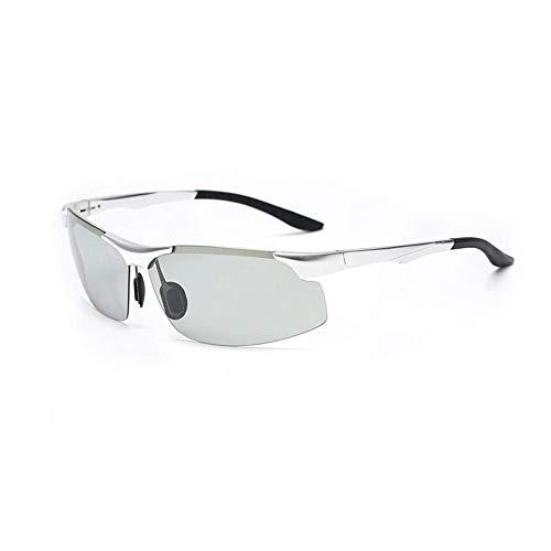 SCJ Tag und Nacht Dual Purpose Sonnenbrillen Unisex Eyewear Polarisierte Sonnenbrillen High-Definition Driving Sonnenbrillen Sportbrillen Anti-UV Anti-Glare (Farbe: 3)