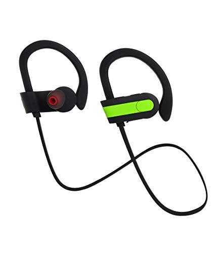 OPAKY Ohrstöpsel Sport-Funkkopfhörer in den Ohr-Headsets BT4.1-Kopfhörer,für iPhone, iPad, Samsung, Huawei,Tablet usw.