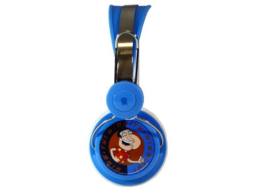 AUDIOLOGY FG4-21-2 Family Guy Stereo Headphones for iPods, iPhones and MP3 Players, Giggity Quagmire Design