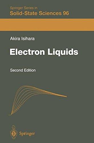 ELECTRON LIQUIDS. 2nd edition, édition en anglais