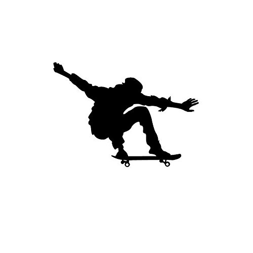 Skateboard Sport Vinyl Schalter Aufkleber Schlafzimmer Mode Wand Tür Aufkleber 5 WS0535 (Strand Skateboard)
