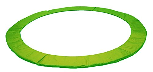 Izzy Trampolin Federabdeckung Ø 305 cm 365 cm 366 cm 426 cm, 430 cm, PVC reißfest, 100{3bde93d7dbaafc316c0947168ad20461c147ec4620b7a4cde7b5634874a81322} UV-beständig, Randabdeckung, Randpolsterung, Randschutz, Umrandungsmatte (grün, 426)