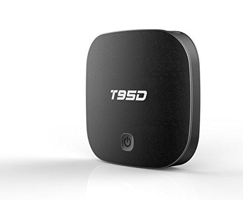 DONG Set-Top-Box STB TV-Box Digital-TV T95D RK3229 Android 5.1 1 GB + 8 GB Quad-Core-Wireless-Netzwerk Smart HD (10,2 * 10,2 * 2,3 cm Schwarz) Startseite Kunststoffe -