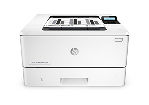 HP LaserJet Pro M402dw Laserdrucker (Wireless Direct-Druck) weiß