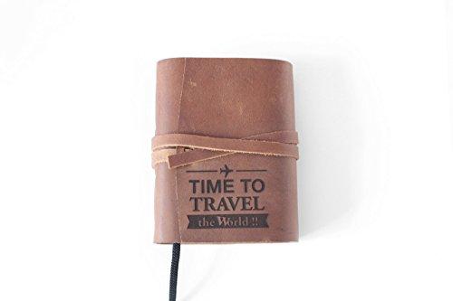 A6 Leder, Tagebuch, Reisetagebuch, Notizbuch, Reisetagebuch, Business-Kladde, Liederbuch, Tagebuch, Rezeptbuch, Poesiealbum, Ideensammlung, Gästebuch