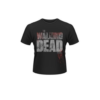 T Shirt The Walking Dead Splatter (Nero) - Large