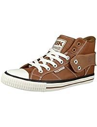 British Knights BK Sneaker ATOLL 2.0 Croco B32-3707 Orange Schwarz, Groesse:EUR 37
