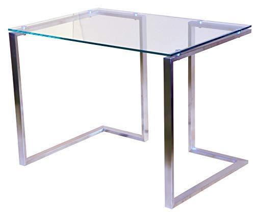 Chyrka Bürotisch Computertisch Beistelltisch Edelstahl Schminktisch