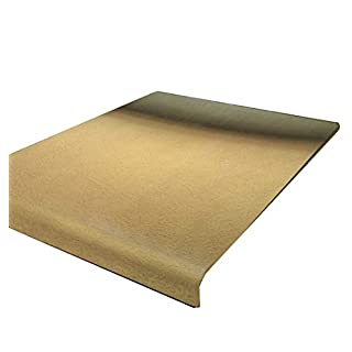 Brass Worktop Saver See all Variation sizes (Includes non slip rubber feet) (500 x 500) (Round Edge)