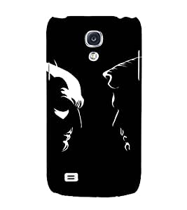 EPICCASE day vs night Mobile Back Case Cover For Samsung Galaxy S4 Mini (Designer Case)
