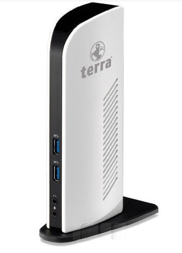 Wortmann AG Wortmann Terra Mobile Dockingstation 731USB 3.0schwarz, weiß Notebook Dock/Port-Replikator Notebook Dockingstationen & portreplikatoren (Kabel, schwarz, weiß)