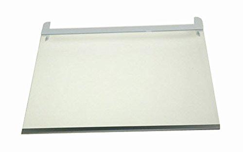 ORIGINAL LG Electronics AHT73595701 Bodenplatte Glasfach Glasablage Bodenplatte Regalplatte Glasplatte Ablage Einlegeboden Regalboden Glasboden 425x350x3mm Kühlschrank Gefrier Kühl-Gefrier-Kombination