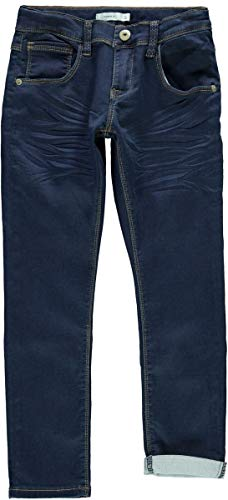 NAME IT Kids Jungen Regular FIT Jeans, Denim Pant Robin DNMHAYER in Dark Blue Denim, Größe:116 (Robin Kinder Jeans)