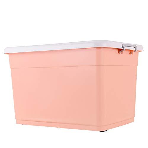 YYHSND Gran Caja Transparente de Almacenamiento de plástico con Tapa Transparente Fuerte contenedor...