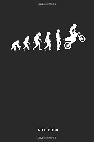 Notebook: Liniertes Notizbuch für Motorradfahrer, Motorrad oder Biker und Motocross Journal - Tagebuch und Taschenbuch für Männer und Frauen - Geschwindigkeit, Notebook