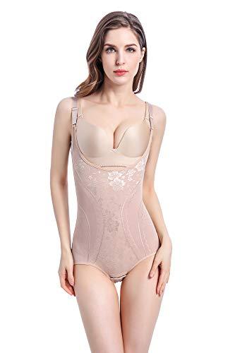 Ceestyle Femme Gaine Amincissante Body Gainant Ventre Plat Lingerie Gainante Minceur Combinaisons Sculptantes