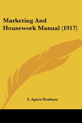 Marketing and Housework Manual (1917)