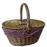 The Uppercrust Mini Lined Picnic Basket