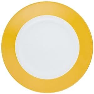 Kahla - Porcelaine pour les Sens 573447A72767C Pronto Colore Assiette à Petit Déjeuner Jaune/Orangé 20,5 cm