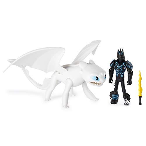 Dragons Dragon & Viking Hiccup/Lightfury - Figuras de Juguete para niños (4 año(s), Niño/niña, Dibujos Animados, Animales, Dragon Riders, 4559 Pieza(s))
