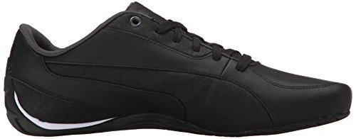 Puma Drift Cat 5 Lea Fashion Sneakers Black/Asphalt