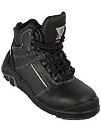 JALLATTE jalmistral X2S1P Zapatos de Trabajo HRO Trabajo Guantes Sandalias Negro, Color Negro, Talla 41