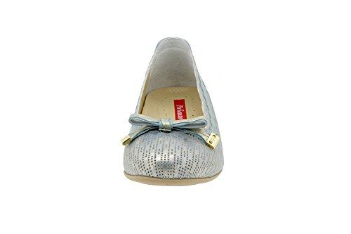 Chaussure femme confort en cuir Piesanto 4725 chaussure basse semelle amovible confortables amples Aqua
