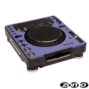 Zomo Twin CDJ blue 1 piece Faceplate