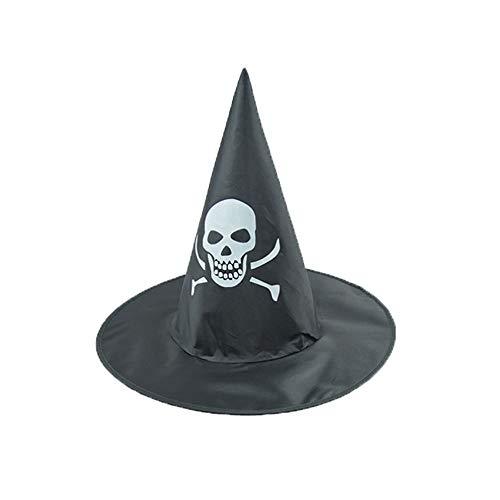 Zottom Der Schwarze Hexenhut der Erwachsenen Frauen für Halloween-Kostüm-Zusatz-Kappe (Dallas Cowboys Kostüm Halloween)