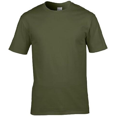Gildan - Maglietta 100% Cotone - (Militari T-shirt)