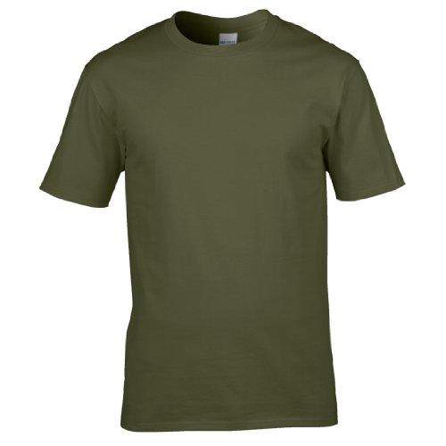Gildan Premium T-Shirt für Männer Military Green
