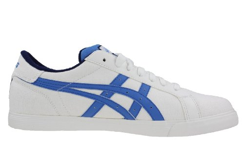 Asics Court Tempo Cv, Chaussures de Gymnastique Mixte Adulte white - blue