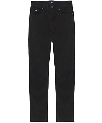 Hugo Boss Black Regular Fit Maine Jeans Black