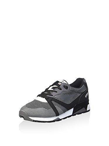 Diadora - N9000 Arrowhead, Sneaker Unisex – Adulto Nero/Bianco