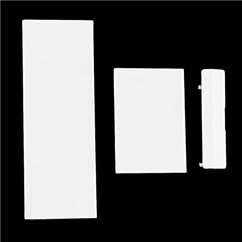 ulable Ersatz Slot umfasst die Deckel Teile für Nintendo Wii Konsole Speicherkarte Tür weiß (Sc-konsolen)