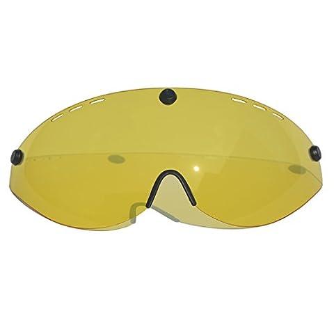 exclusky Erwachsene Fahrrad Helm 57–61cm, gelb
