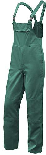 strongAnt® - Latzhose Herren Hamburg Kombi-Hose Berufskleidung - Kermen - Größe: 23, Farbe: Grün