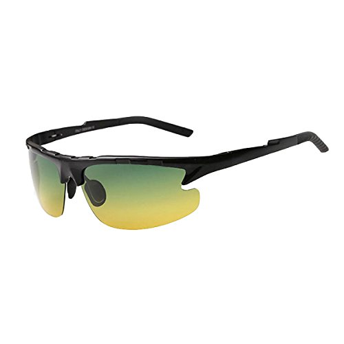 High-grade Aluminum Magnesium Day And Night Polarized Sunglasses Multi-color Optional