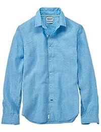 Amazon.it  camicia lino - Timberland   Uomo  Abbigliamento 19d25f7fc7
