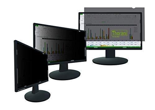 Thorani Desktop Privacy Filter, Blickschutzfolie für Breitbild Computer- & PC-Monitor schützt vor unerwünschten Blicken - 24 Zoll, 16:9