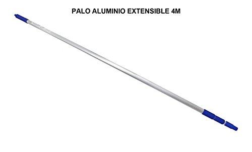 Bastone con manico telescopico, in alluminio. Allungabile fino a 4metri