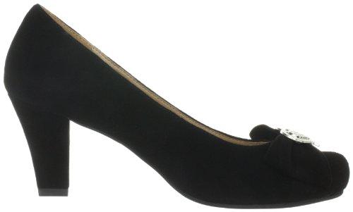 Andrea Conti 0594345, Scarpe col tacco donna Nero (Schwarz (schwarz 002))