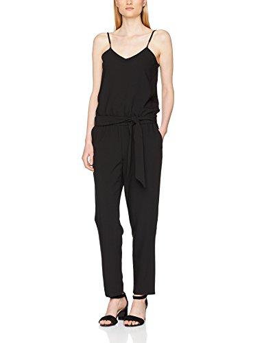 ESPRIT Collection Damen Jumpsuit 057EO1L001, Schwarz (Black 001), 38