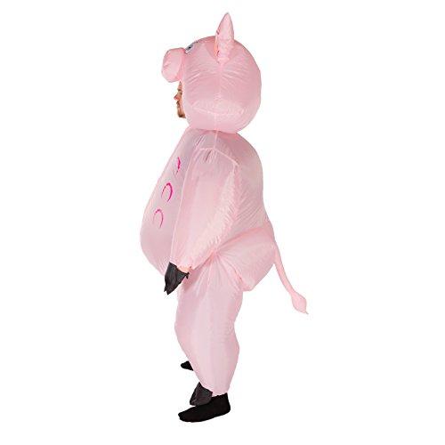 Imagen de hinchable adulto disfraz cerdo  alternativa