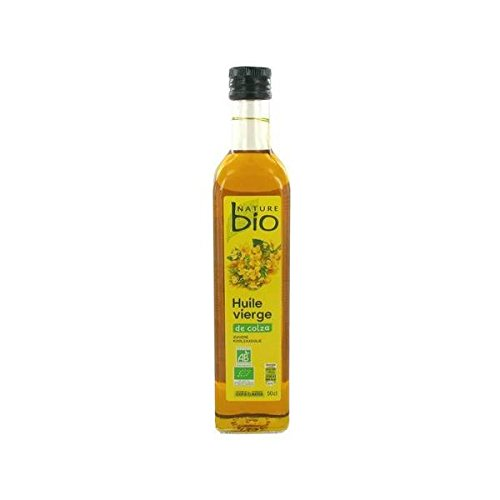 Nature bio huile de colza vierge 50cl - ( Prix Unitaire ) - Envoi Rapide Et Soignée