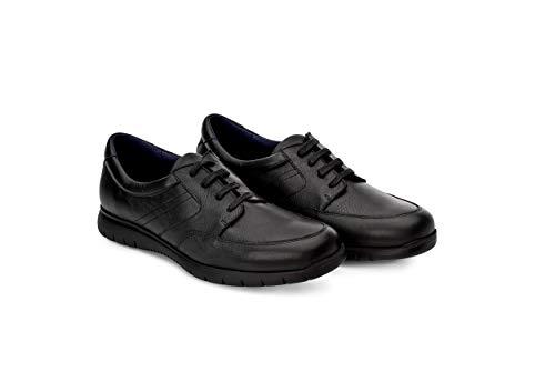 Oneflex Gael Negro - Zapatos Cómodos de Hombre - livianos y Antideslizantes - Talla 46