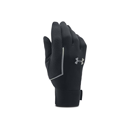 Under Armour Herren Running UA No Breaks Armour Liner Handschuhe, Schwarz, LG