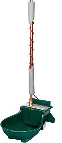 Lister Heizbares Tränkebecken SB 112 NT H RBH mit Rohrbegleitheizung 230 Volt / 66 Watt (Frostschutz bis ca. -25°C) - mit Schwimmerventil 230 Volt - Tränke Kuh Kühe Rinder Pferd Pferde Stall