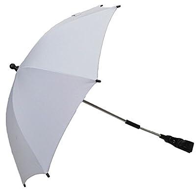 Parasol compatible con Graco Nimble Citi Mirage Evo plata