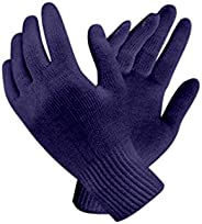 Bon Organik Reusable Blue Knitted Hand Gloves (Pack Of 10)